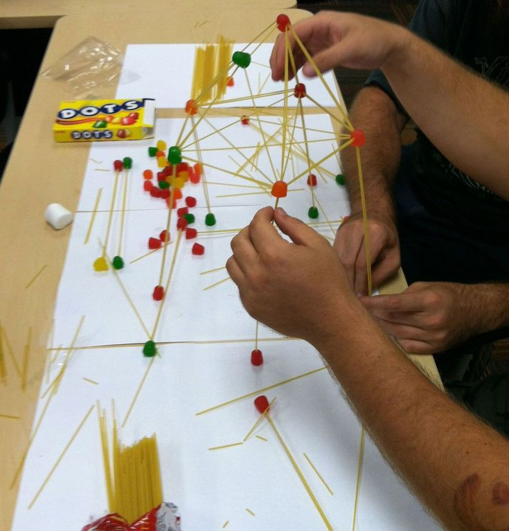 Composition Classroom: Spaghetti Tower Group Dynamic Exercise