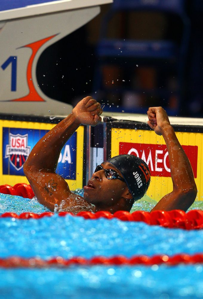 After almost drowning at the age of 5, Cullen Jones made it his goal to conquer the water. Now, at 28 years old, Jones has become one of the fastest freestyle sprinters in the country, taking home the gold and setting a world record at the 2008 Beijing Olympic Games.