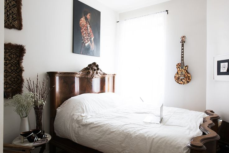 Looking for cool NYC apartments? Here is Azede Jean-Pierre's Clinton Hill/Bed-Stuy-cusp spot.