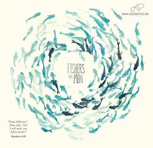 Best 25 matthew 4 19 ideas on pinterest matthew 4 for Give a man a fish bible verse