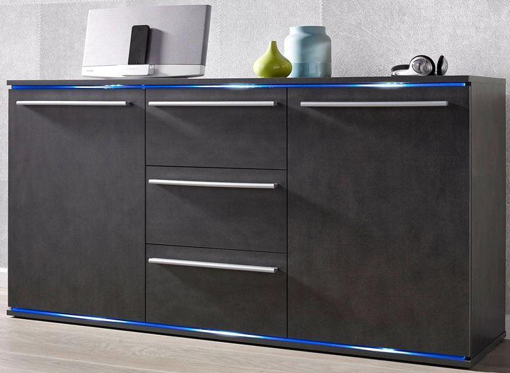 Sideboard Grau FSCR Zertifiziert Yourhome Jetzt Bestellen Unter Moebelladendirektde Wohnzimmer Schraenke Sideboards Uid714ca7da Ccb5 521f