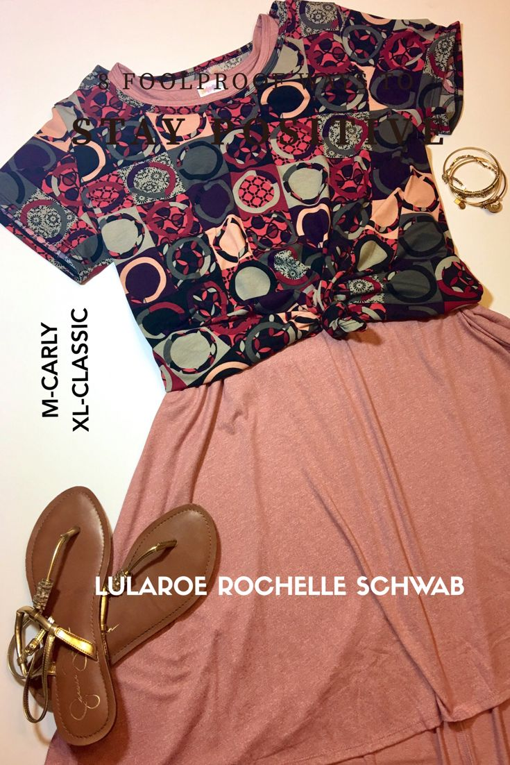 Join LulaRoe Rochelle Schwab online Boutique for more outfit inspiration - Carly paired with a Classic T.  https://m.facebook.com/groups/1561069307532579