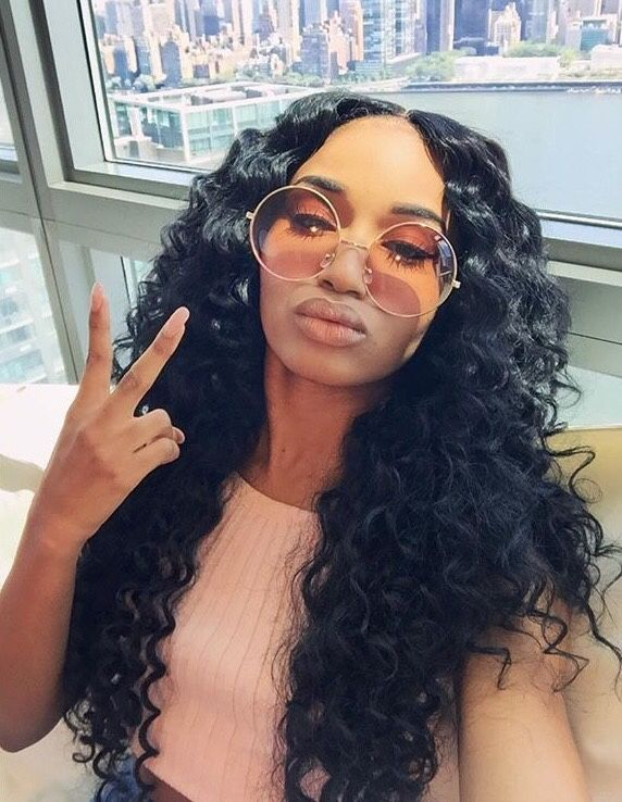 Swell 1000 Ideas About Deep Wave Weave On Pinterest Hair Weaves Short Hairstyles For Black Women Fulllsitofus