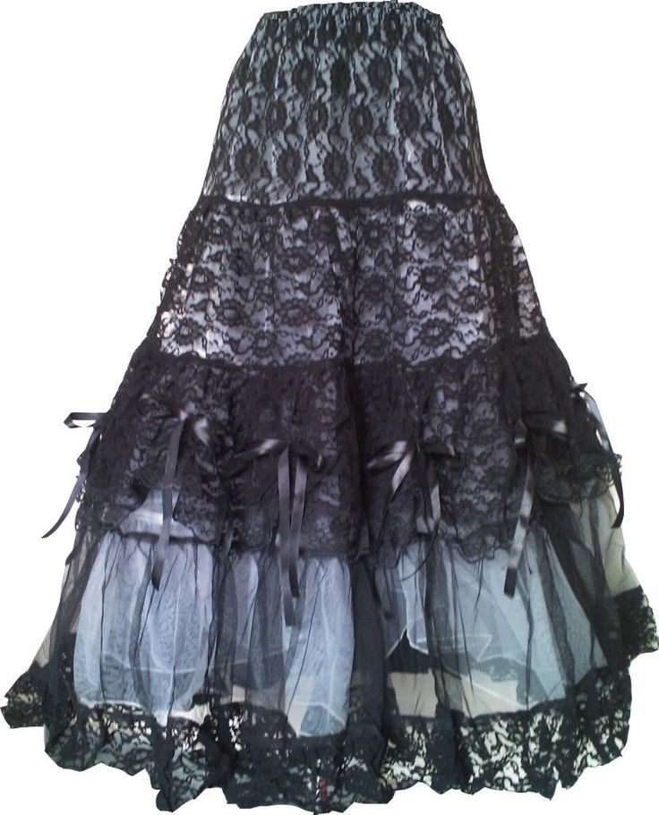 Wedding Gothic White Halloween Skirt Punk Prom Custom Made Us Size 20-26