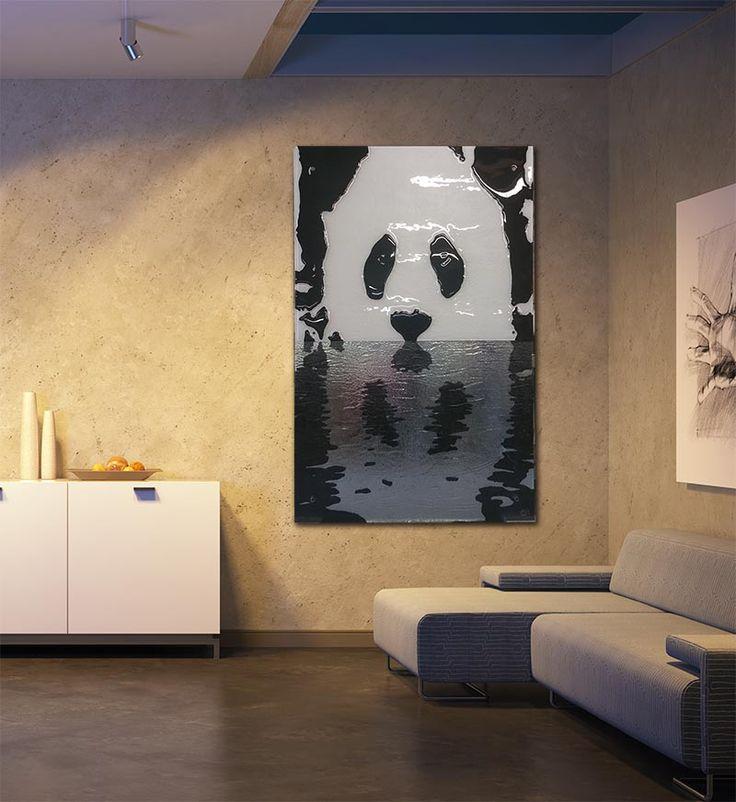 http://glassartgallery.com.au/portfolio/reflective-panda/