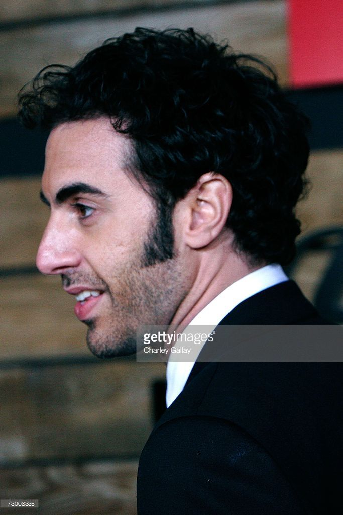Actor Sacha Baron Cohen arrives the EMA & E! Golden Green After Party held at the Beverly Hilton on January 15, 2007 in Beverly Hills, California.