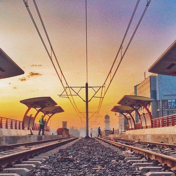 Traditional Light Rail: Addis Ababa Light Rail By Girma Berta
