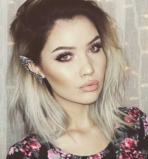 2015 Edgy Ombre Hair
