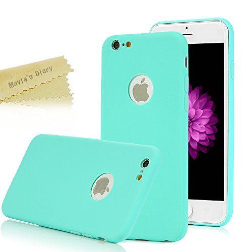 "iPhone 6 Funda Silicona,iPhone 6S Funda Gel Suave TPU Case - Mavis's Diary Carcasa Resistente a los Arañazos para iPhone 6 / 6S 4.7"" Color de Azul + 1 * Protector de Pantalla Con Cristal Vidrio Templado Premium - http://www.tiendasmoviles.net/2016/04/iphone-6-funda-siliconaiphone-6s-funda-gel-suave-tpu-case-maviss-diary-carcasa-resistente-a-los-aranazos-para-iphone-6-6s-4-7-color-de-azul-1-protector-de-pantalla-con-cristal-vidrio-temp/"