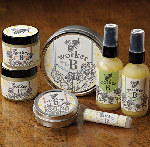 Worker B—Handcrafted Balms and lotions