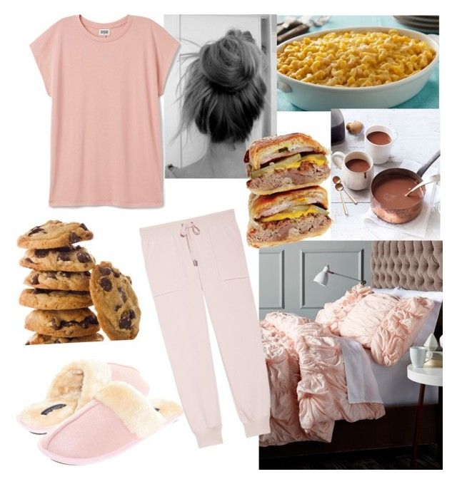 Staying in bed and eating all day by jessann-harrold on Polyvore featuring polyvore arte