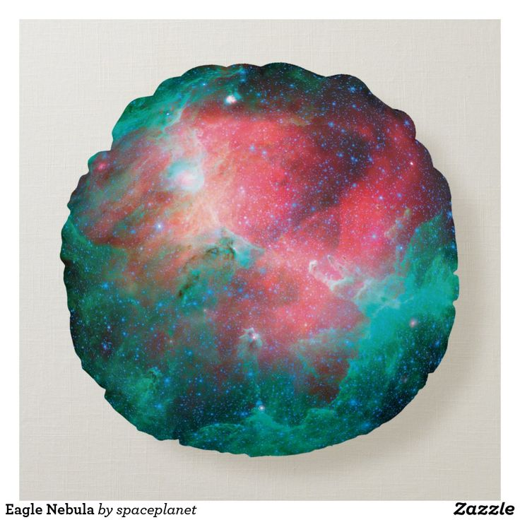Eagle Nebula Round Pillow in 2020 Eagle