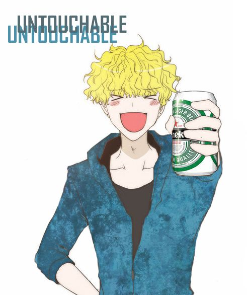 Untouchable wanna beer? :) #untouchable #webtoons #webtoon m.webtoons.com