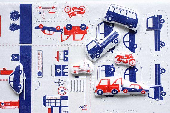 Car Cosy Sewing Kit / Etsy / Carambouilles / 21 Euros