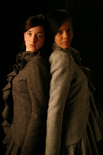 Ardalanish Flounce Coats by Anja , Swedish Designer