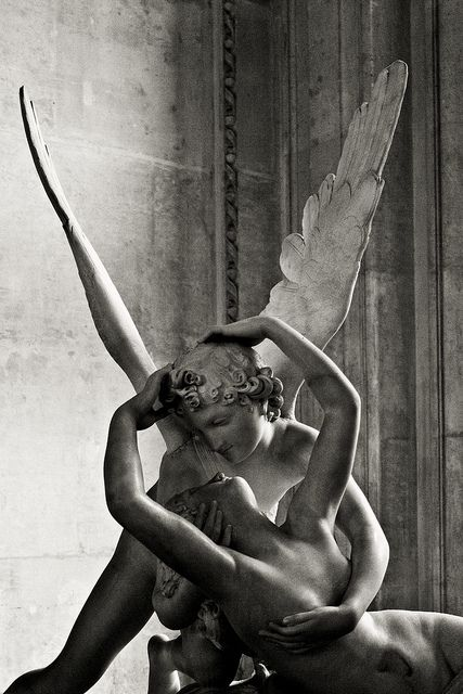 Cupid & Psyche at the Louvre. The fact that I've seen this twice, and each time I just stood and admired, is awesome. I hope I'll be able to visit it again.