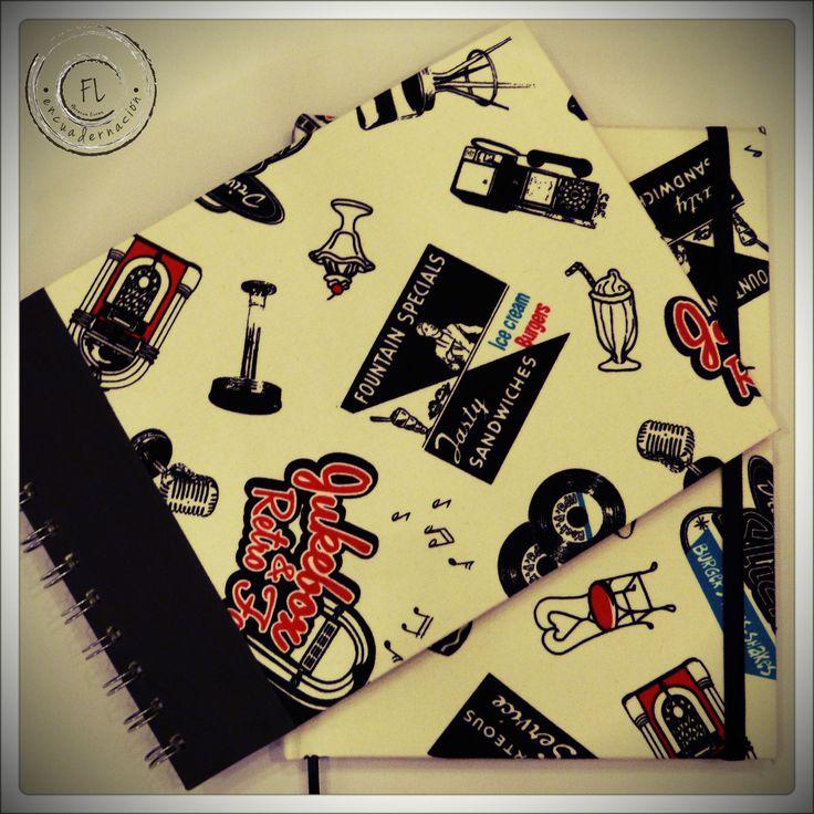 Encuadernación Artesanal  Cuaderno pentagramado de 80 hojas bookcel color hueso + elástico  by Florence Livres   + Regalos Empresariales + Regalos Personalizados
