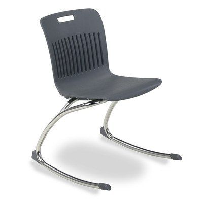 Analogy Metal Classroom Chair [Set of 2] Seat Color: Graphite  //Price: $ & FREE Shipping //     #home