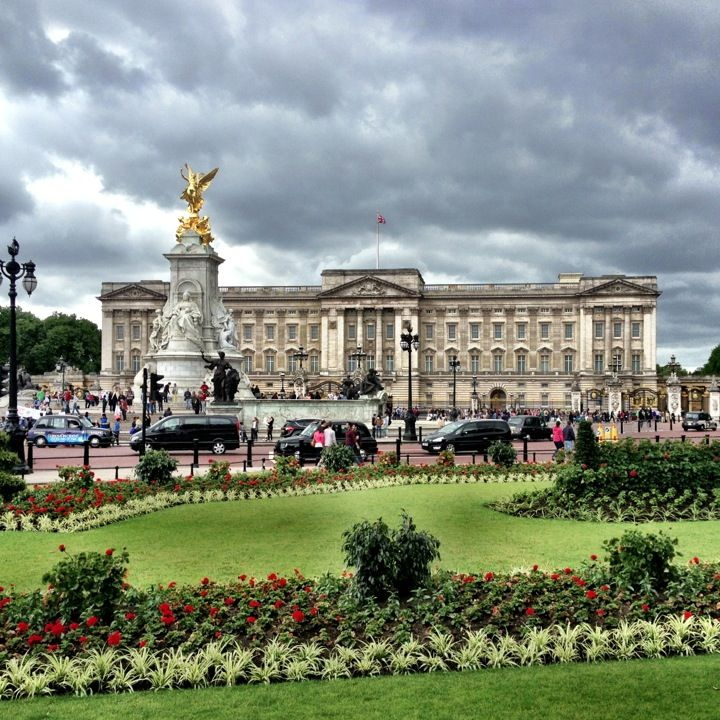 Buckingham Palace in London, Greater London. I think I have been here more than anyone in England ;).