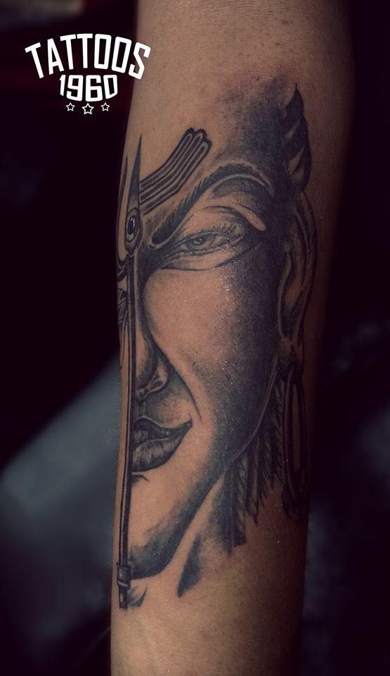 Lord Shiva Tattoo, Lord Shiva Face , Trishul Tattoo