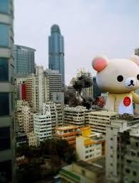 Rirakkuma - The most popular bear character in Japan.