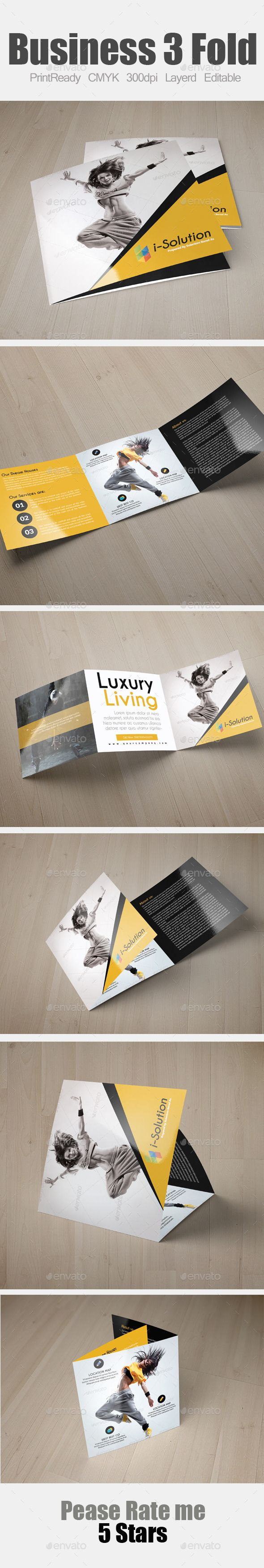 Dance Studio Square Trifold Template — Photoshop PSD #square #multipurpose • Available here → https://graphicriver.net/item/dance-studio-square-trifold-template/11237946?ref=pxcr