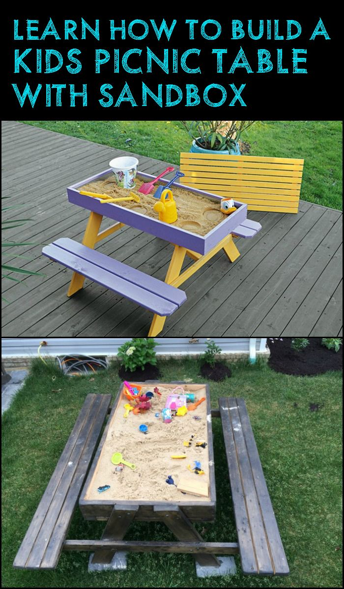 best 25 kids picnic table ideas on pinterest kids picnic table plans kids picnic and kid table. Black Bedroom Furniture Sets. Home Design Ideas