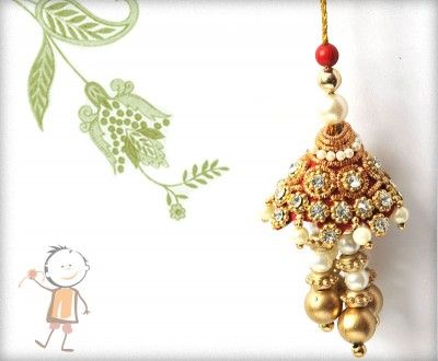 Lumba Rakhi - Send Online #Lumba #Rakhi – online rakhi.Traditional Red-Golden Zardosi Lumba,surprise your loved ones with roli chawal, chocolates and a greeting card as it is also a part of our package and that too without any extra charges. http://www.bablarakhi.com/