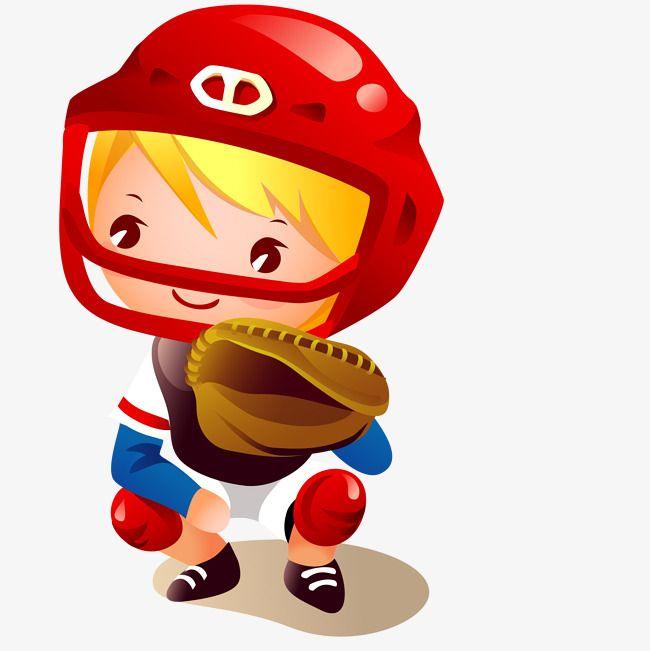 Baseball Kid Cartoon Vector Ninos Dibujos Animados Dibujos Para Ninos Jugadores De Beisbol