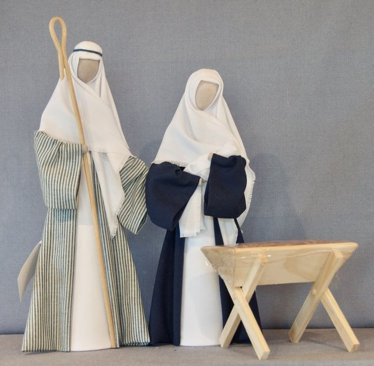 To show nativity family with wooden manger - $80 NZD