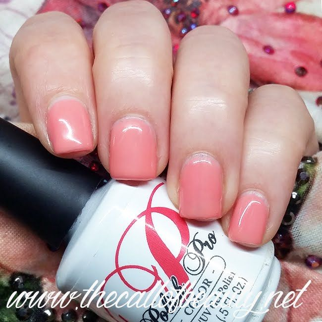 The Call of Beauty: Gel Polish Swatch: NSI Polish Pro Coral Dahlia - smalti semipermanenti