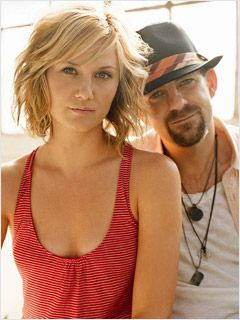 sugarland short hair.  I tried to do this once upon a time but my hair is so thick it just fro'd