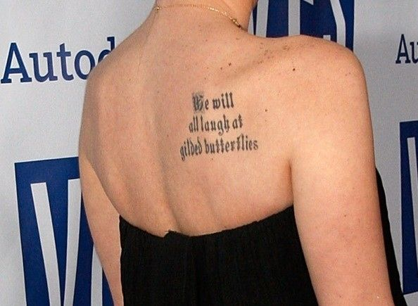 Best 25 shoulder quote tattoos ideas on pinterest back for Gilded heart tattoo