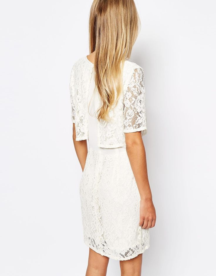 Image 2 of Vila Lace Detailed Dress