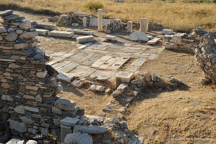 archeological site seeing, Paros Greece