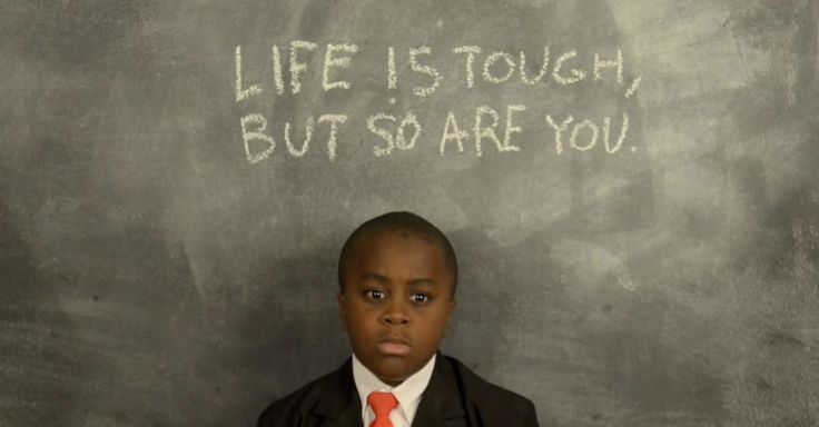 If you can't think of something nice to say, Kid President has you covered.