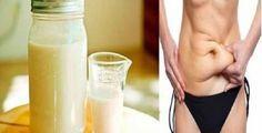 Antes de ir para cama, beba esta mistura: ela vai eliminar toda a gordura…