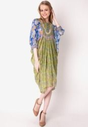 Danar Hadi  Long Dress Pelangi Batik