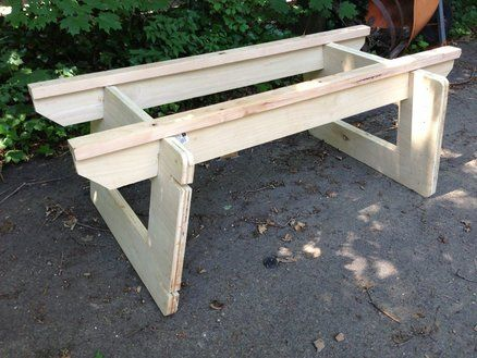Plywood Sawhorse Plans Free Woodworking Projects Amp Plans