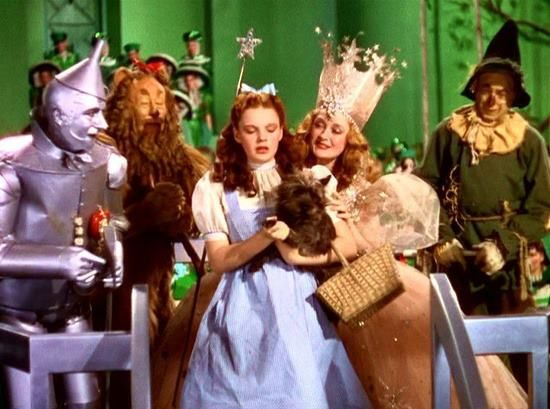 my main disappointment from watching the wizard of oz Skip to main content november 3 in sci-fi history: godzilla meets the wizard of oz you know how you'd lie around and watch the wizard of oz on tv every so.