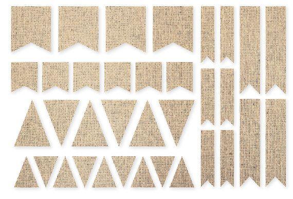 Simples historias de arpillera DIY bandera pegatinas, adorno de Scrapbook/arte