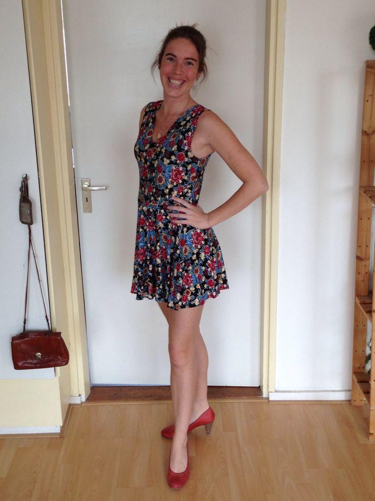 Simpel vrolijk zomers jurkje