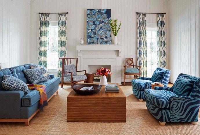 Шторы для гостиной актуальные идеи 2017 | Colors.life