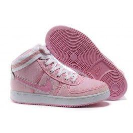 Billig Nike Vandal High Frauen Rosa Weiß Schuhe Online | Beliebt Nike Skate Schuhe Online | Nike Schuhe Online Zu Verkaufen | schuheoutlet.net