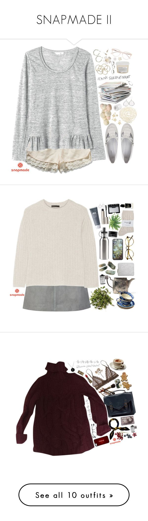 """""""SNAPMADE II"""" by ritaflagy ❤ liked on Polyvore featuring Rebecca Taylor, Diesel, Public Library, H&M, Dinny Hall, J.Crew, MANGO, Davines, Derek Lam and Bethany Lowe"""