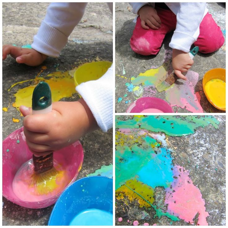 Pintura líquida de tiza | #Artividades