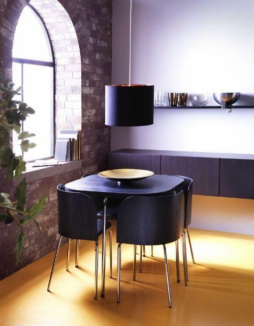 Las 25 mejores ideas sobre comedores peque os en - Mesas para comedores pequenos ...