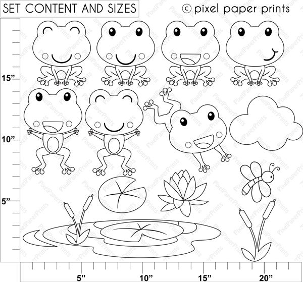 sentiment stamps frog - Google Search