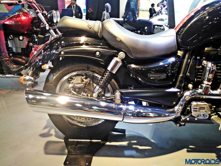 Triumph Motorcycles Stand - Auto Expo 2016 (193)