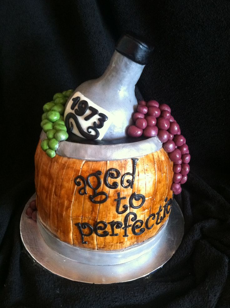 Aged To Perfection Cake Sugar Mama Cakes Pinterest